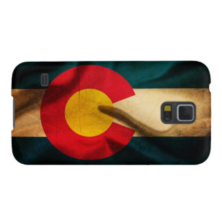 Bandera de Colorado sedosa Funda Para Galaxy S5