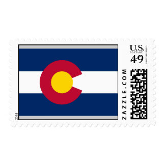 Bandera de Colorado Sellos