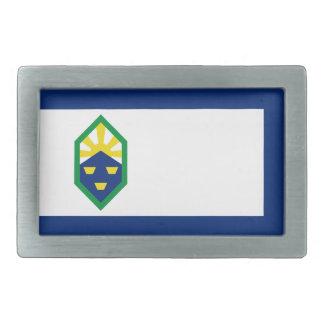 Bandera de Colorado Springs Hebillas Cinturon