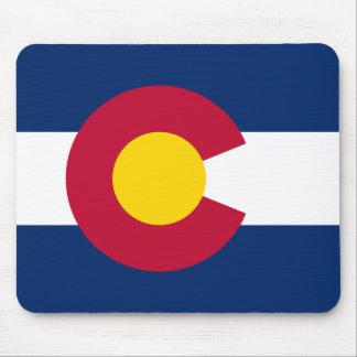 Bandera de Colorado Tapetes De Raton