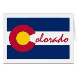 Bandera de Colorado Tarjetón