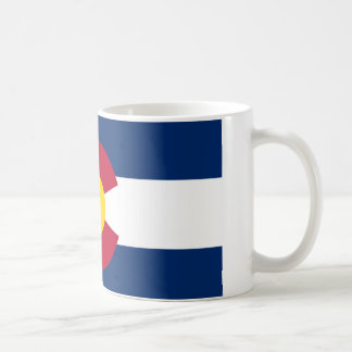 Bandera de Colorado Taza Clásica