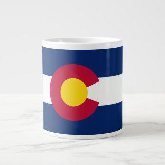 Bandera de Colorado Taza De Café Grande