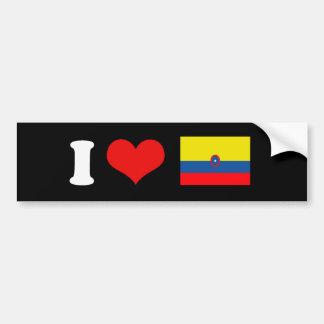 Bandera de Columbia Pegatina Para Auto