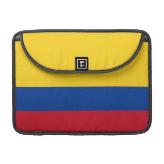 Bandera de Columbia, República de Colombia Fundas Macbook Pro
