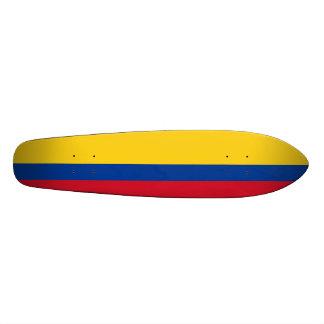 Bandera de Columbia, República de Colombia Patines