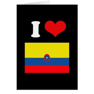 Bandera de Columbia Felicitaciones