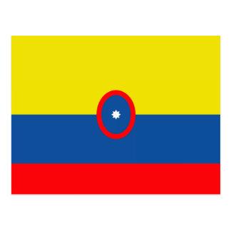 Bandera de Columbia Tarjeta Postal