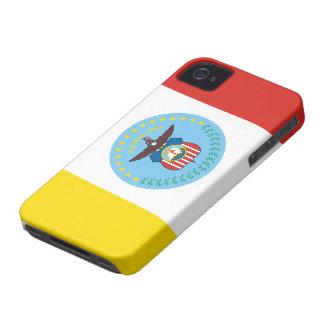 Bandera de Columbus, Ohio Case-Mate iPhone 4 Protector