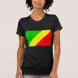 Bandera de Congo Brazzaville Camisetas