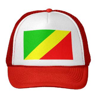 Bandera de Congo Brazzaville Gorras De Camionero