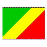 Bandera de Congo Brazzaville Postal