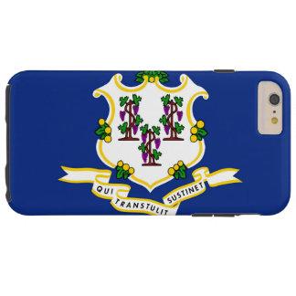 Bandera de Connecticut Funda Resistente iPhone 6 Plus