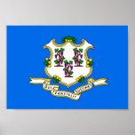 Bandera de Connecticut Impresiones