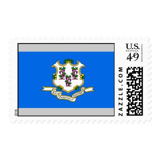 Bandera de Connecticut Sello