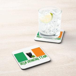 Bandera de consumición irlandesa del St Patricks o Posavasos