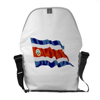 Bandera de Costa Rica Bolsas De Mensajería