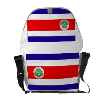 Bandera de Costa Rica Bolsas Messenger
