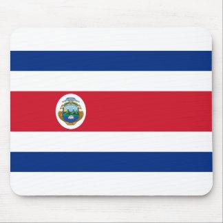 Bandera de Costa Rica - Flag of Costa Rica Mouse Pad