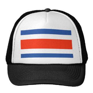 Bandera de Costa Rica Gorros Bordados