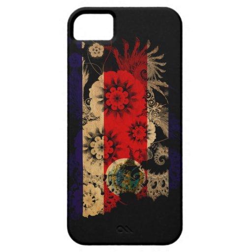 Bandera de Costa Rica iPhone 5 Case-Mate Protector