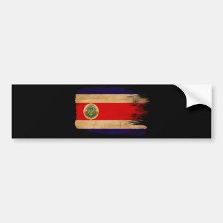 Bandera de Costa Rica Pegatina Para Auto