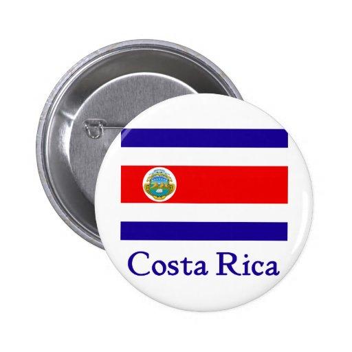 Bandera de Costa Rica Pin