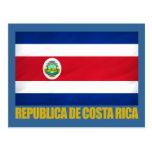 Bandera de Costa Rica Postales