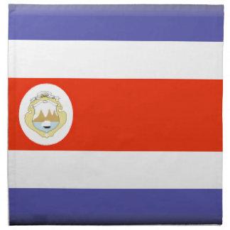 Bandera de Costa Rica Servilleta De Papel