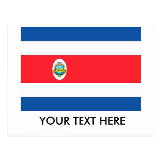 Bandera de Costa Rica Postal