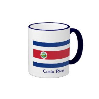 bandera de Costa Rica Taza De Dos Colores