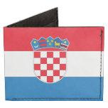 Bandera de Croacia Billeteras Tyvek®