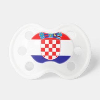 Bandera de Croacia Chupetes De Bebe