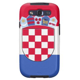 Bandera de Croacia Galaxy SIII Funda