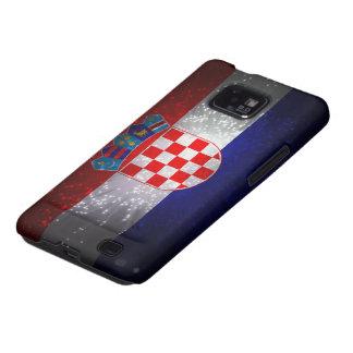Bandera de Croacia Galaxy S2 Cobertura
