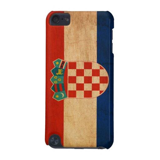 Bandera de Croacia Funda Para iPod Touch 5G