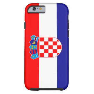Bandera de Croacia Funda Resistente iPhone 6
