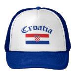 Bandera de Croacia Gorros