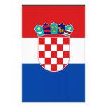 Bandera de Croacia Papeleria De Diseño