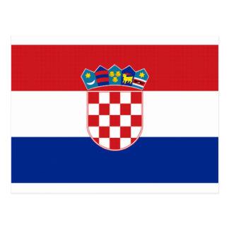 Bandera de Croacia Postal