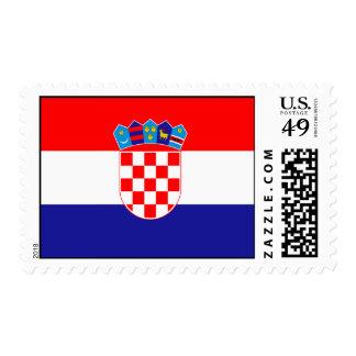 Bandera de Croacia Sello