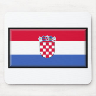 Bandera de Croacia Alfombrilla De Ratón