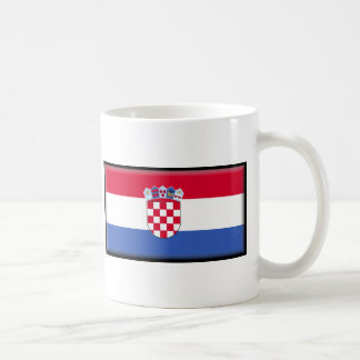 Bandera de Croacia Taza