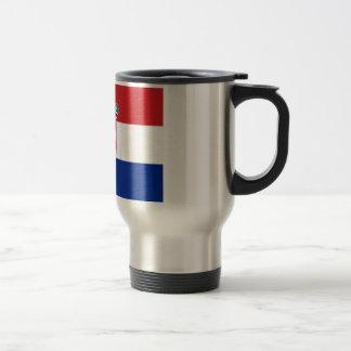Bandera de Croacia Taza De Café