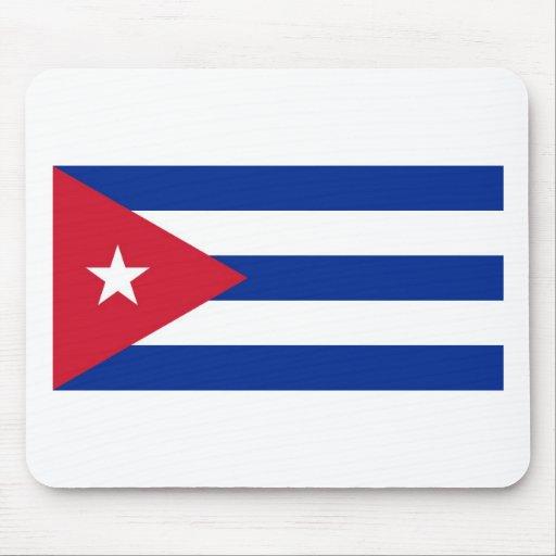 Bandera de Cuba Alfombrillas De Ratón