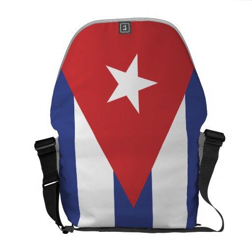 Bandera de Cuba Bolsa De Mensajería