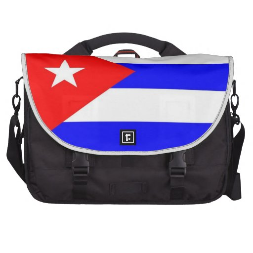 Bandera de Cuba Bolsas De Ordenador