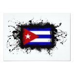 Bandera de Cuba Comunicado Personalizado