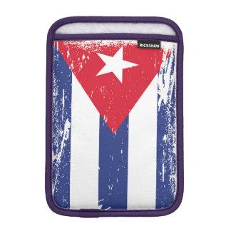 Bandera de Cuba del Grunge Fundas iPad Mini