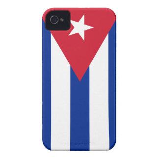 Bandera de Cuba iPhone 4 Case-Mate Protector